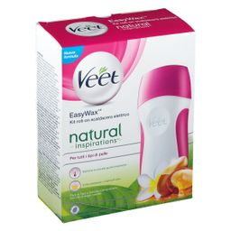 Veet Easy Wax Kit Fiore Tiarè & Argan Oil