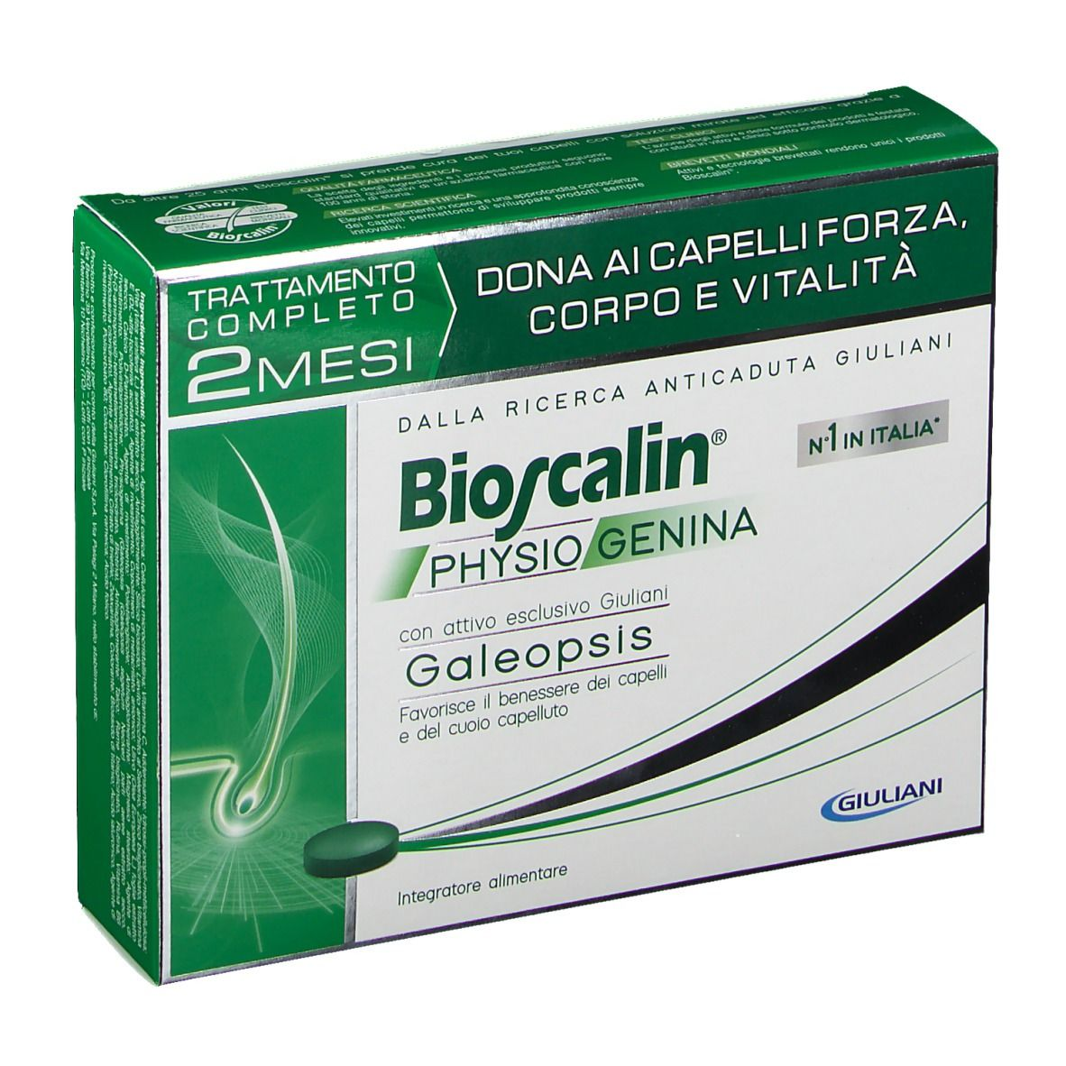 Bioscalin® Physiogenina Compresse Uomo e Donna 60 pz ...