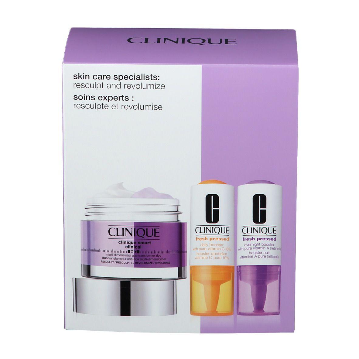 CLINIQUE Skin Care Specialists: Resculpt and Revolumize