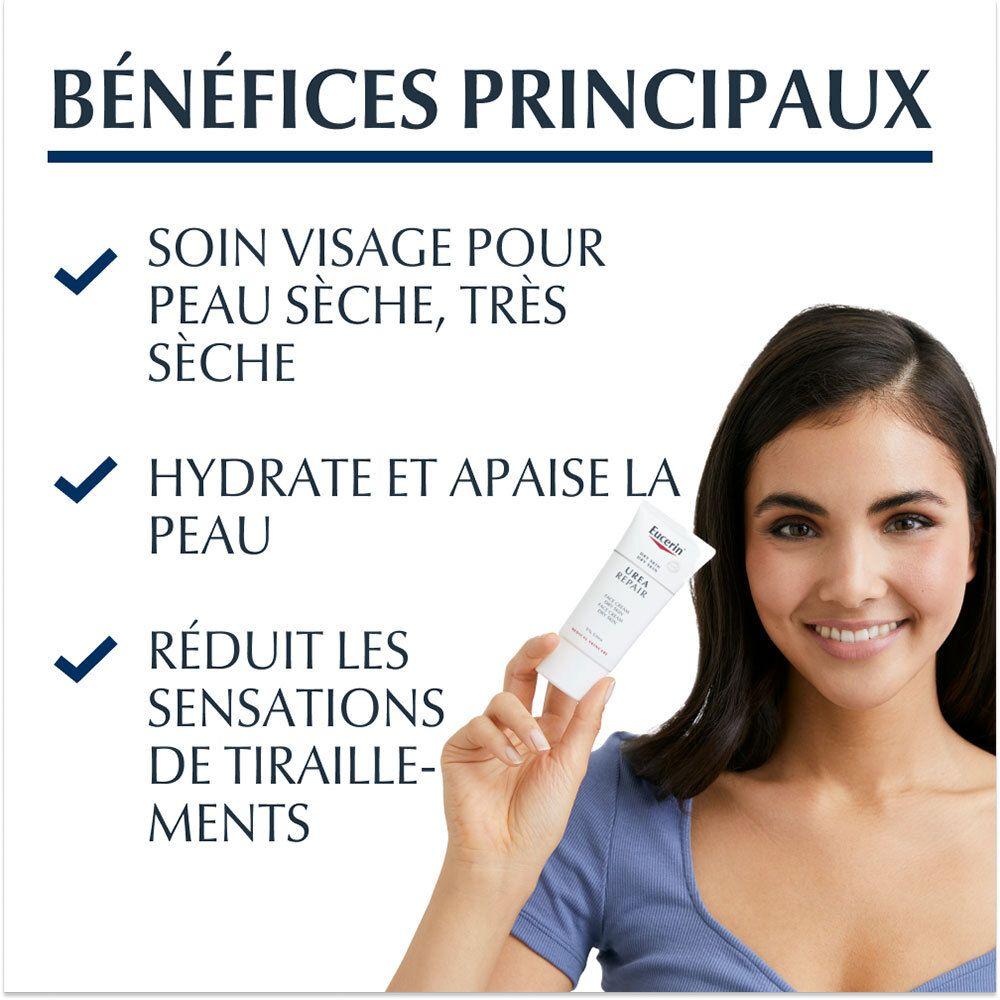 Eucerin® Urea Repair Crema Viso Levigante 5% Urea