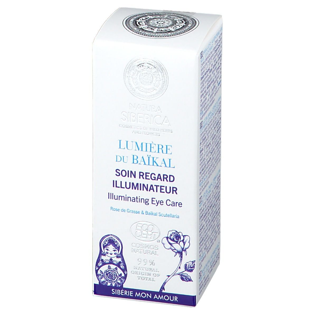 NATURA SIBERICA Lumière du Baïkal Illuminating Eye Care