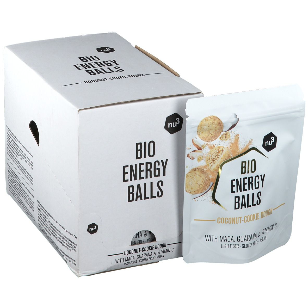 Nu3 Bio Energy Balls Coconut-Cookie Dough