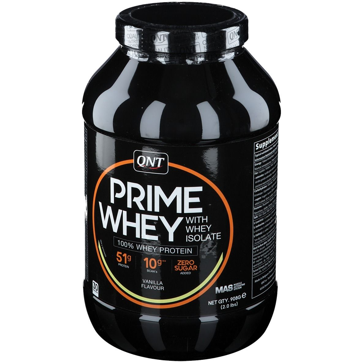 QNT Prime Whey Vaniglia