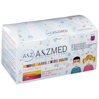 A&ZMED Mascherina per Bambini a 3 Strati