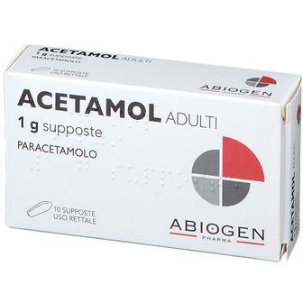 ACETAMOL 1 g Adulti Supposte