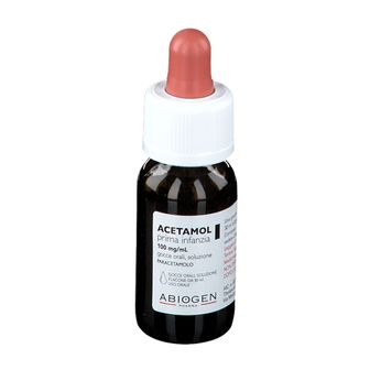 ACETAMOL Prima Infanzia 100 mg/ml gocce orali