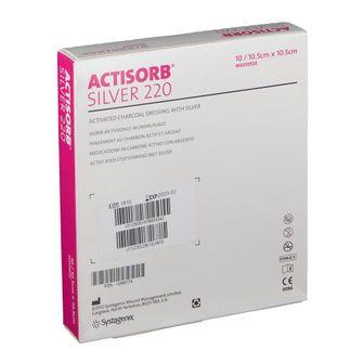 Actisorb®  Silver 220 10,5 cm x 10,5 cm