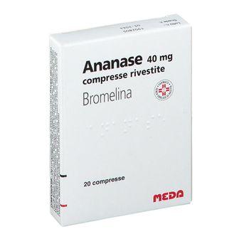 Ananase 40 mg compresse rivestite