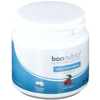 BariNutrics® Calcio Citrato Gusto Ciliegia