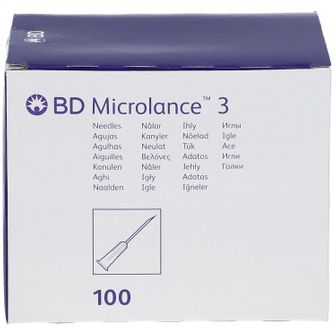 BD Microlance™+ 3 Aghi 0,5 mm x 16 mm