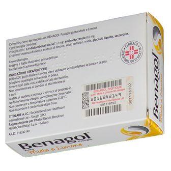 BENAGOL® Pastiglie Miele e Limone 36 Pastiglie