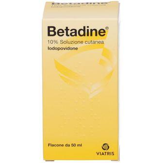 Betadine® 10% Soluzione cutanea Iodopovidone 50 ml
