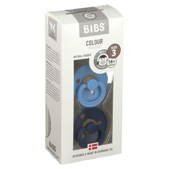 BIBS® BIBS COLOUR Sky Blue - Deep Space 18+