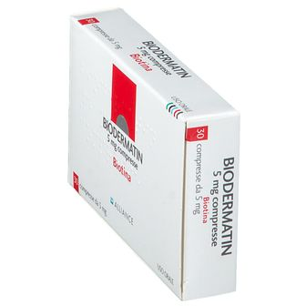 BIODERMATIN 5 mg Compresse
