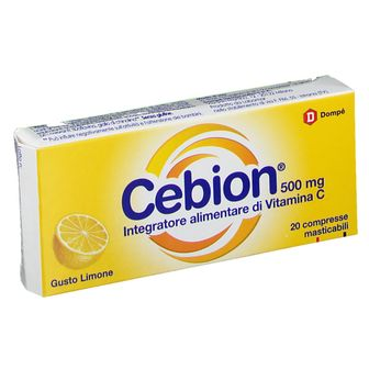 Cebion® 500 mg Gusto Limone