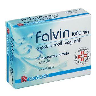 falvin 1000 mg capsule molli vaginali