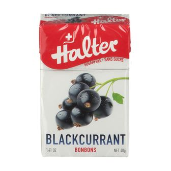 Halter Bonbon Ribes Nero Senza Zucchero