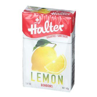 Halter Bonbons lemon, sugar free