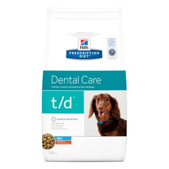 Hill's Prescription Diet t/d Mini Alimento per Cani con Pollo