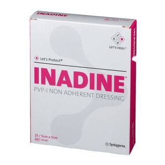 Inadine®  5 cm x 5 cm