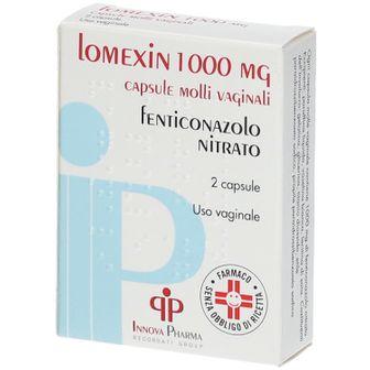 Lomexin 1000 mg capsule molli vaginali