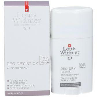 Louis Widmer Deo Dry Stick Senza Profumo