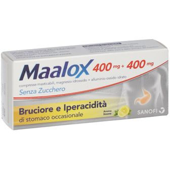 Maalox Senza Zucchero Compresse Masticabili