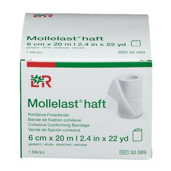 Mollelast Haft Bandage Elastic ADH 6cm x 20m