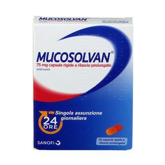 MUCOSOLVAN® 75 mg Capsule Rigide