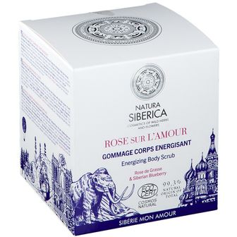 NATURA SIBERICA Amour Rose Energizing Body Scrub