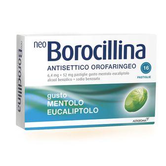 NeoBorocillina Antisettico Orofaringeo Mentolo Eucaliptolo