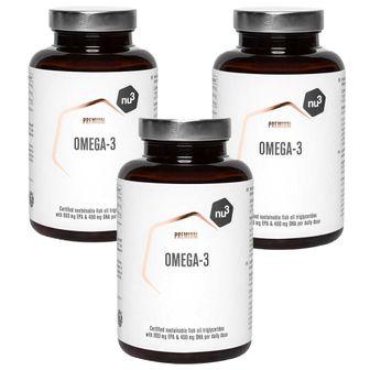 nu3 Omega-3 Premium Set da 3