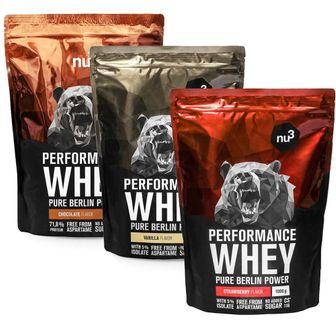 nu3 Performance Proteine Whey Tris Classico