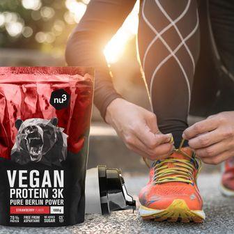 nu3 Vegan Protein 3K Shake, Fragola