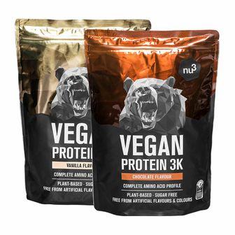 nu3 Vegan Protein 3K Vanilla + Chocolate