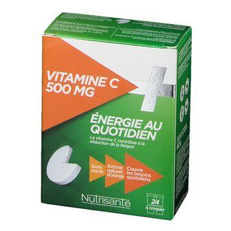 Nutrisanté Vitamin C 500MG Offerto GRATUITAMENTE