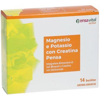 Pensa Benessere Magnesio e Potassio con Creatina