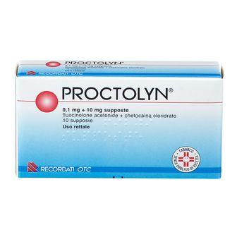 PROCTOLYN®  Supposte