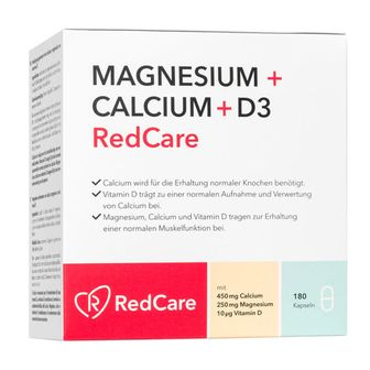 RedCare MAGNESIO + CALCIO + D3