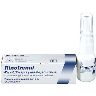 Rinofrenal Spray nasale