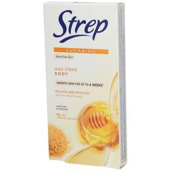Strep Sugaring Strisce Depilatorie Corpo