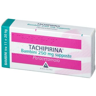 TACHIPIRINA® Bambini 250 mg Supposte