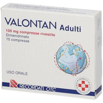 VALONTAN Adulti 100 mg 10 Compresse rivesite