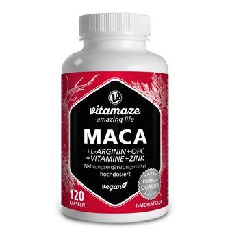 VISPURA MACA + L-Arginina + OPC + Vitamine + Zinco