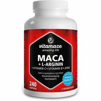 Vitamaze MACA + L-Arginina