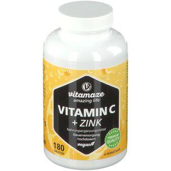 Vitamaze Vitamin C + Zinco