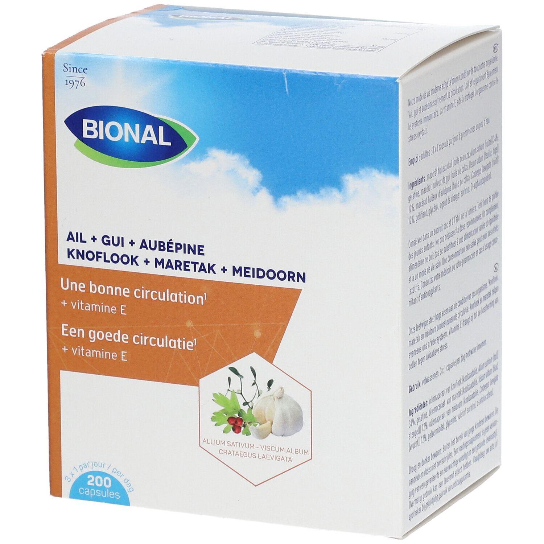Bional Garlic+Mistel+Crataegus+Vitamina E