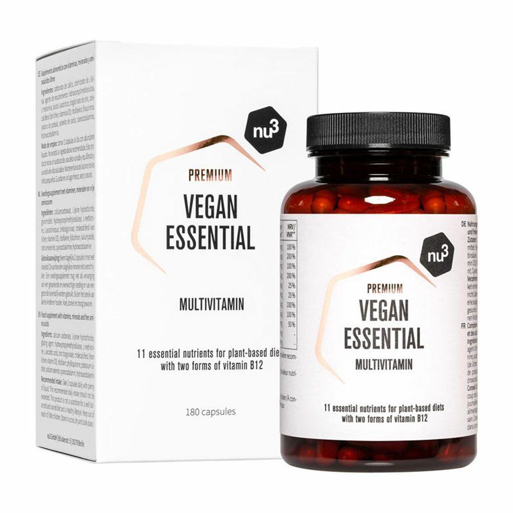nu3 Vegan Essential Multivitamin