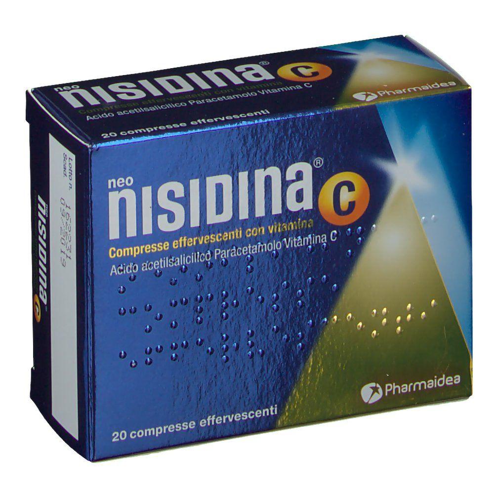 neo nisidina compresse effervescenti con vitamina c