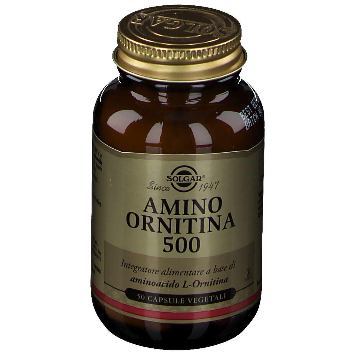 SOLGAR® Amino Ornitina 500